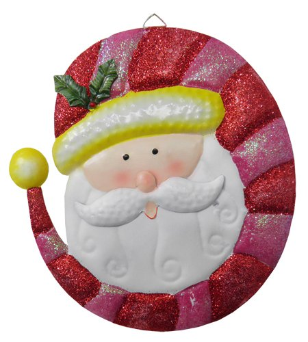 Conjunto Papai Noel Purpurina Natal Natalino Com 3 Unid (NA-14 PNP)