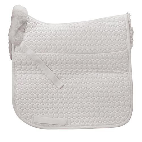 Mattes Square Dressage Pad with Bare Flaps