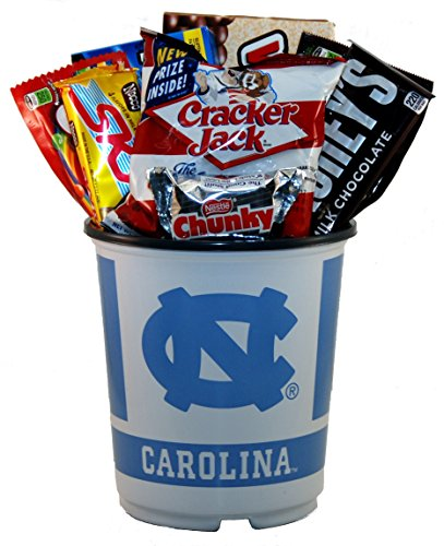University of North Carolina Snack Bucket Gift Basket