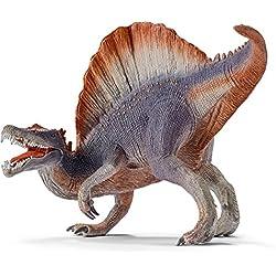 Schleich Réplica de Figura de Dinosaurio Spinosaurio Violeta, color café con gris y violeta