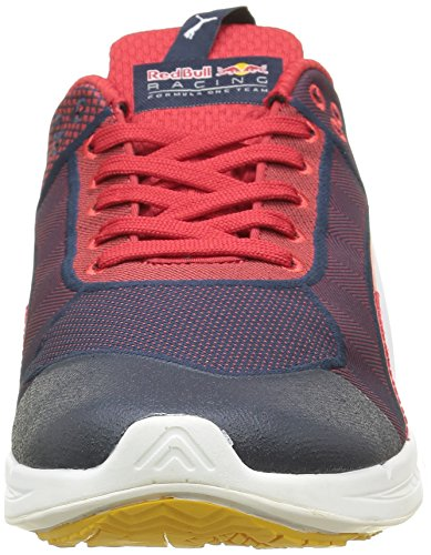 Puma Rbr Mechs Ignite, Baskets Basses Mixte Adulte Bleu (Total Eclipse/White/Chinese Red)