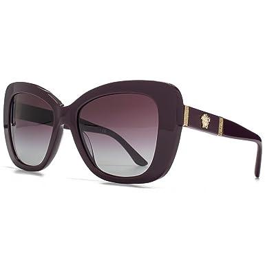 dbd8a238e4 Versace Medusa Logo torché lunettes de soleil en aubergine VE4305Q 50664Q  54 54 Violet Gradient