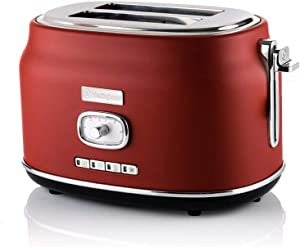 Westinghouse Retro 2 Slice Toaster (Red)