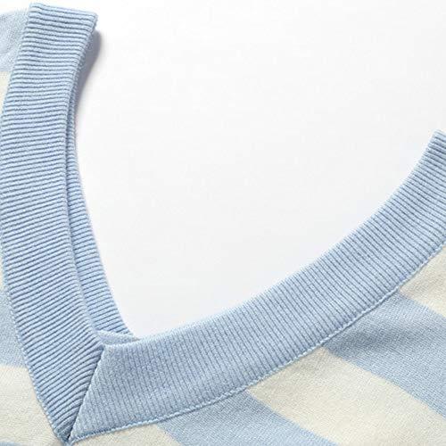 Ju a Color Light Blue V Maglioncino a scollo lungo e sheng donna a nuovo con in da scollo felpa con V inverno 8Hr481qxw