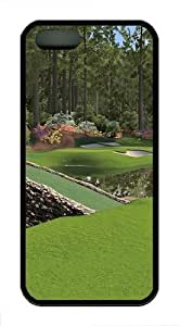 12th Augusta National TPU Case Cover For iPhone 5 and iPhone 5S Black