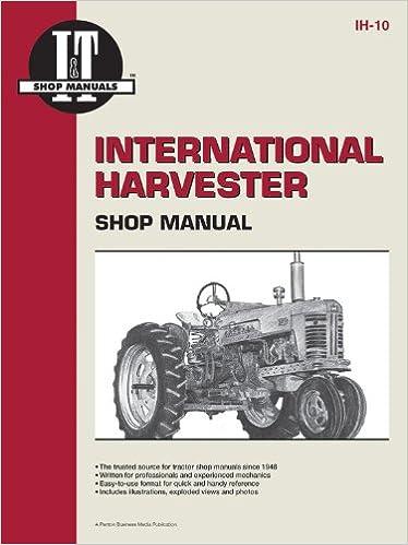 International Harvester Shop Manual Series 300 300 Utility - Ih - 10 (I & T Shop Service)