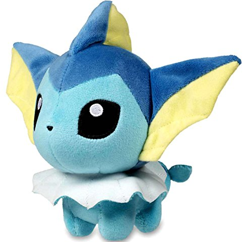 - Pokemon Center Original Vaporeon (Showers) Doll 7 Inch Poke Plush