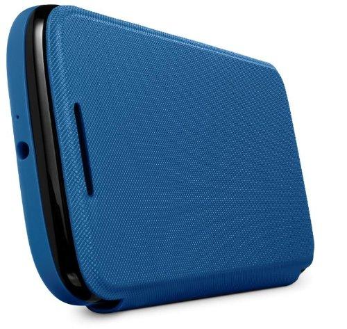 huge discount 53015 26d5d Motorola Flip Shell for Moto G - Retail Packaging - Royal Blue (1st  Generation Only)