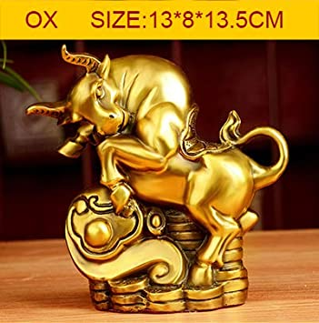 1PCS Small Collectibles Brass money Horse Statues Small type