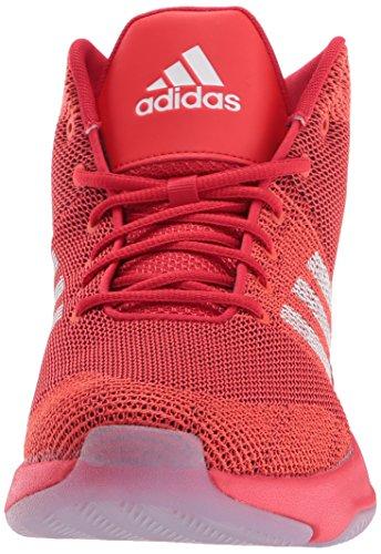 Adidas Neo Mens Cf Executor Mid Scarpe Da Basket Scarlatto / Bianco / Core Rosso