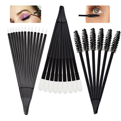 bc6b7e2fe21 ... Aprince Mascara Wands Brushes Eyeliner Brush Eyeshade Brush 150 Pcs  Makeup Tool Kits Lip Brushes Eyelash ...
