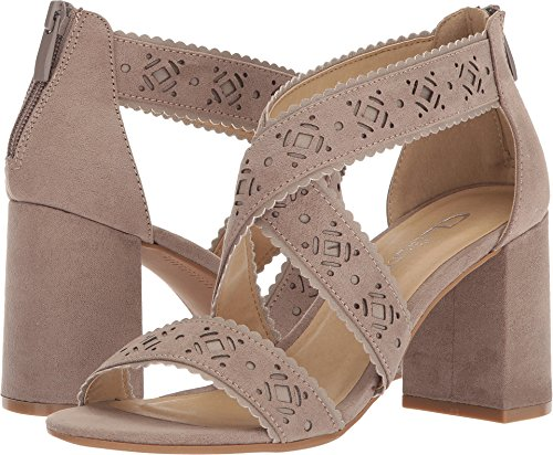 Chinese Laundry Womens Sweet (CL by Laundry Women's Biz Warm Taupe Super Suede 6 M US)