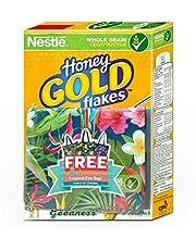 NESTLÉ HONEY GOLD CORNFLAKES Cereal (370g) + FREE Tropical Eco Bag,