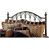 Hillsdale Furniture 1332HK Huntley Headboard, King, Dusty Bronze