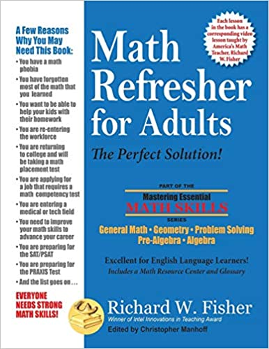 Amazon com: Math Refresher for Adults: The Perfect Solution