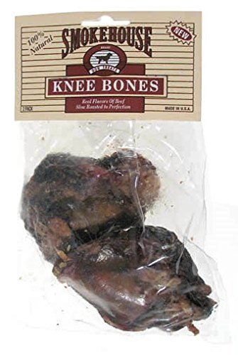 Smokehouse Beef Knee Bones Dog Treats 2CT (Pack of 18)