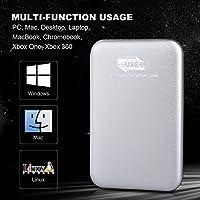 Disco Duro Externo 2 TB, USB3.0 Disco Duro Externo para PC, Mac ...