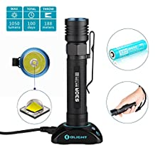 Olight® S30R III 3500mAh 1050 Lumens Rechargeable Flashlight CREE XM-L2 LED Search Light with Charging Dock