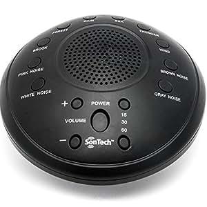 sontech white noise sound machine 10 natural soothing sound tracks multiple. Black Bedroom Furniture Sets. Home Design Ideas