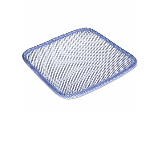 Ventilated Car Seat Cushion Summer Comfortable for Auto Interior & Office Chair (15.7 X 15.7 Inch, Gray)