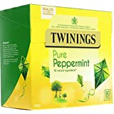 Twinings Pure Peppermint Tea, 80 bag (Pack of 1)