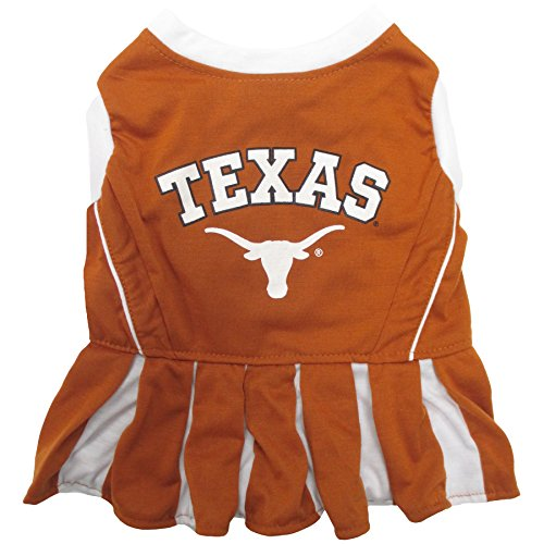NCAA Texas Longhorns Dog Cheerleader Outfit, Medium]()