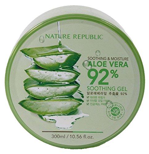 Nature Republic Soothing & Moisture Aloe Vera 92% Gel, 300 G