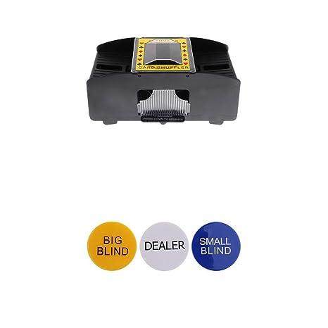 MagiDeal Mezclador Automático de Tarjetas para Juego de ...