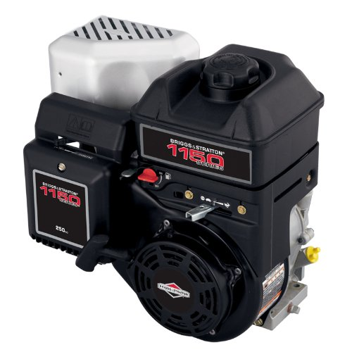 - Briggs and Stratton 15T212-0026-F8 250cc 11.50 Gross Torque Engine with a Tapered 2-13/16-Inch Length Crankshaft