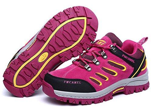 10 Randonne Baskets Pour Bottes Unisexes Femmes Gfone 2 Taille 5 Basses De Et Fuschia3 Trekking Chaussures Marche 4vtZqpw