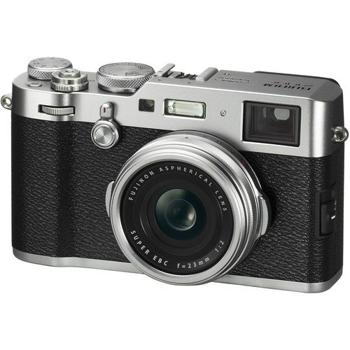 Fujifilm X100F 24.3 MP APS-C Digital Camera (International Version) (Silver)