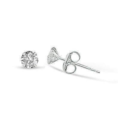 Ohrringe silber stecker stein