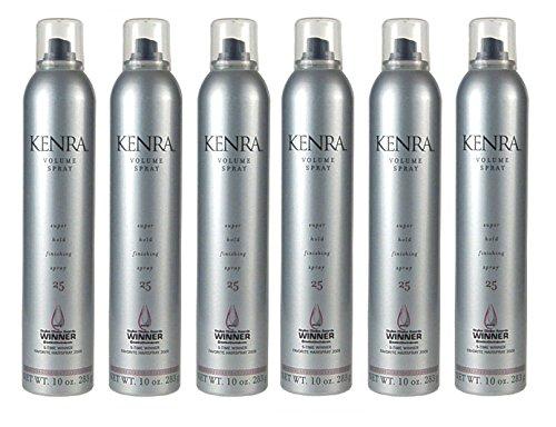 6 X Kenra Volume 25 Spray 10oz Each by Kenra
