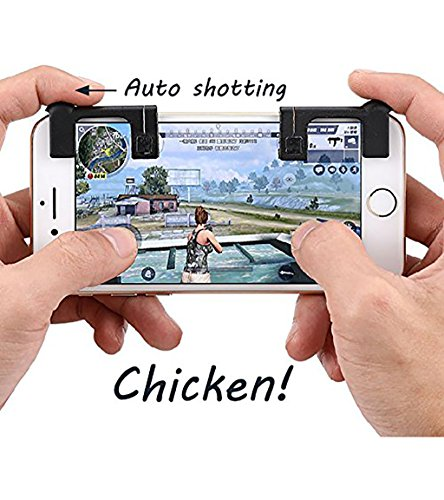Royale Handle - Rules of Survival!The 2th Shooting Game Artifact,apply to and aim L1R1 Trigger Buttons for Knives Out/PUBG/Survivor Royale/Rules Of Surviva Game Handle Shortcut Keys To Assist Android And iOS Mob