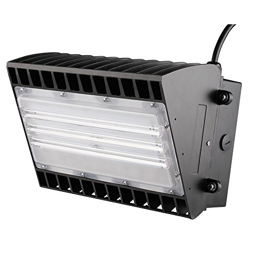1000LED LED Wall Pack Fixture 100W 11000Lm 700W HID/HPS Equal Waterproof IP65 Daylight 5000K AC100-277V UL DLC Approval Outdoor Wall Pack Lights by 1000LED