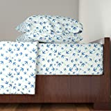 Roostery Bird 3pc Sheet Set Airspeed Velocity Of An Unladen Swallow by Studiofibonacci Twin Sheet Set made with