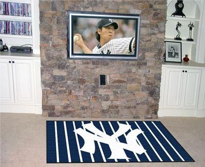 New York Yankees Rug 5'x 8' -