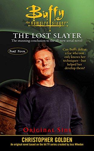 Amazon Original Sins Lost Slayer Serial Novel Part 4 Buffy