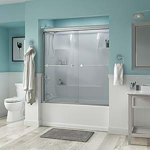 """Delta Shower Doors SD3276614 Trinsic 60"""" Semi-Frameless"""