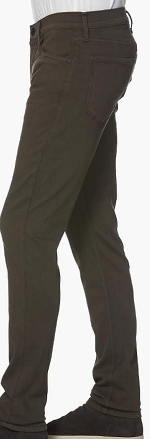 Paige Mens Jean Lennox River Moss Slim Jeans M653799 6704