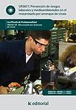 Prevención de riesgos laborales y medioambientales en el mecanizado por arranque de viruta. FMEH0109 (Spanish Edition)
