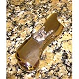 Hang Loose Bic Solid Pewter Lighter Sleeve Case for full size Bic lighters Brand New!