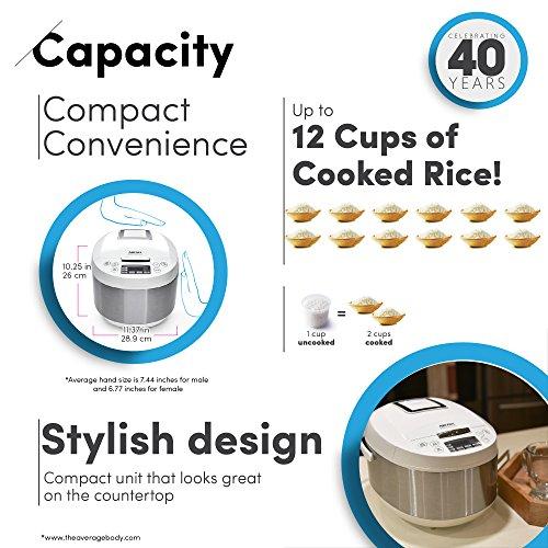 Aroma-Housewares-ARC-6206C-Ceramic-Rice-CookerMulticooker-White