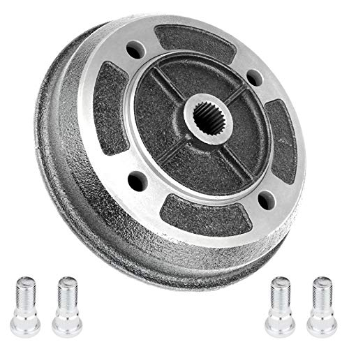 CALTRIC REAR BRAKE DRUM w/BOLT FITS Kawasaki MULE 2500 KAF620C KAF620 C 1994 1995-2000
