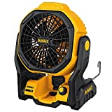 "DEWALT DCE511B 11"" Corded/Cordless Jobsite Fan (Bare Tool)"