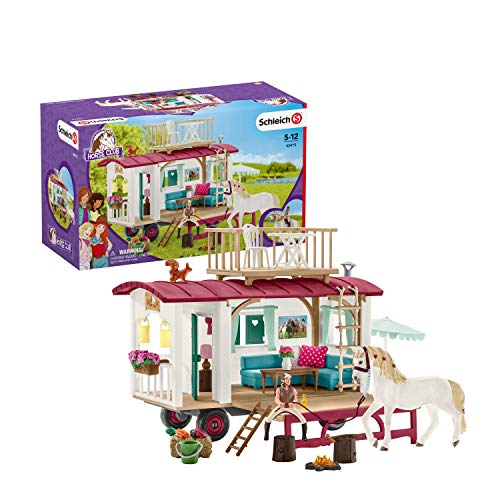 Schleich 42415 Caravan for Secret Club Meetings Play for sale  Delivered anywhere in USA