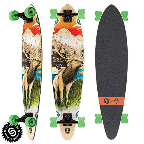 (Sector 9 Stag Swift Longboard Complete)