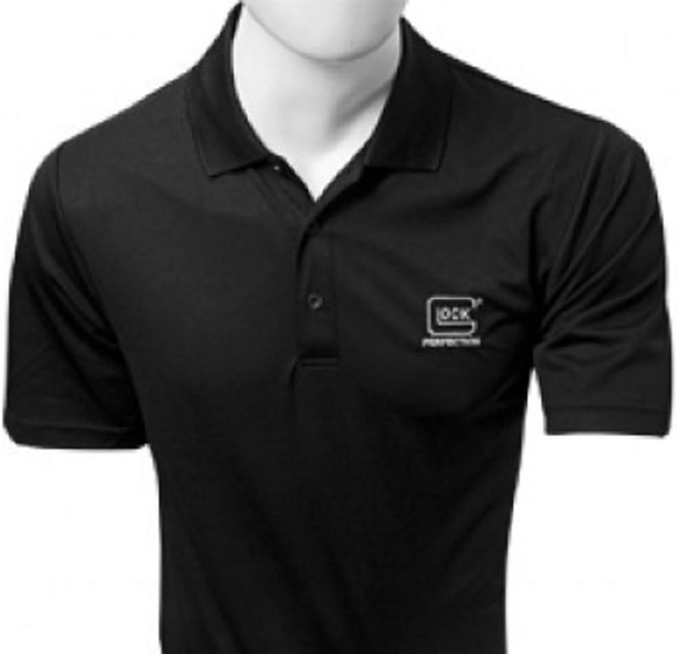 Glock perfección del hombre Polo camiseta - AA50002, Medium, Negro ...