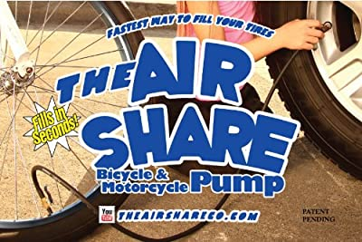 The Air Share Bicycle & Motorcycle Pump