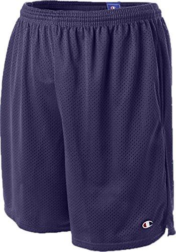Champion Long Mesh Men's Shorts with Pockets (M, Navy)